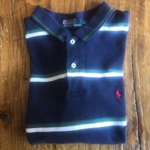 Men's Short Sleeve Striped Polo by Ralph Lauren